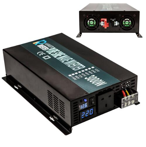 3000W Off Grid DC to AC Pure Sine Wave Solar Power Inverter